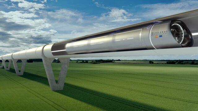 sistema de transporte Hyperloop