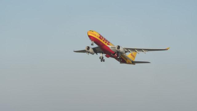 vuelo ecológico DHL