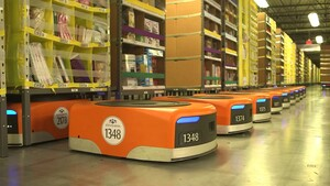 centro logístico robótico