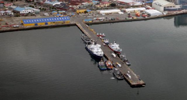 Ampliación del muelle de Punta Arenas
