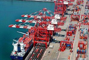 disminución de tráfico de contenedores