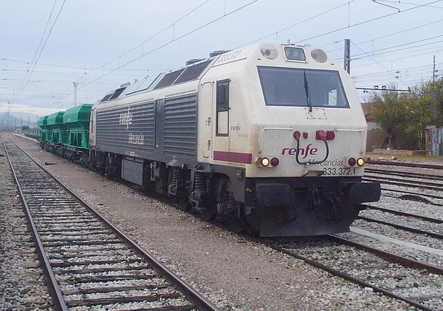 servicio ferroviario