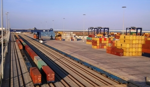 tráfico de contenedores