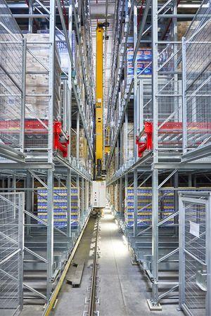almacén automatizado de Henkel