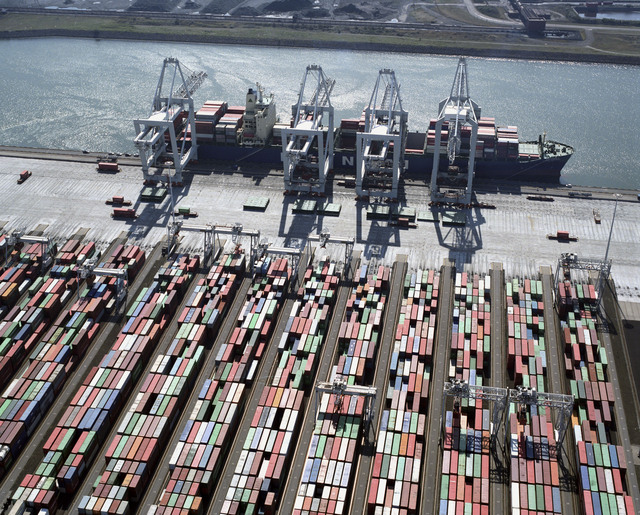 Terminales portuarias de Rotterdam