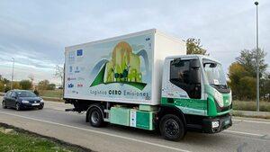 camión eléctrico urbano
