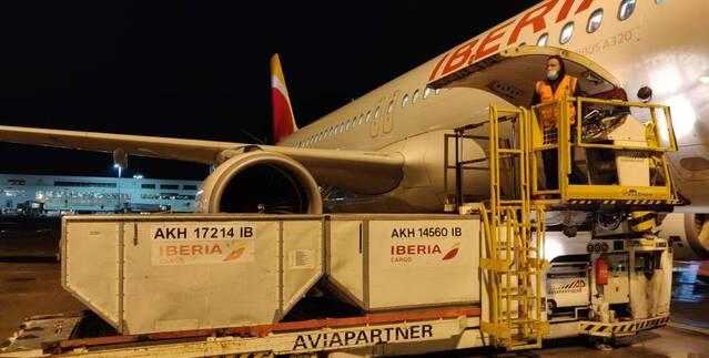 carga aérea española